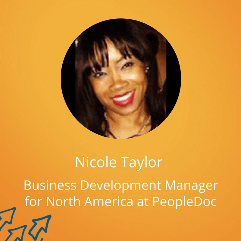 Nicole Taylor, Business Development Manager for North America at PeopleDoc (3)