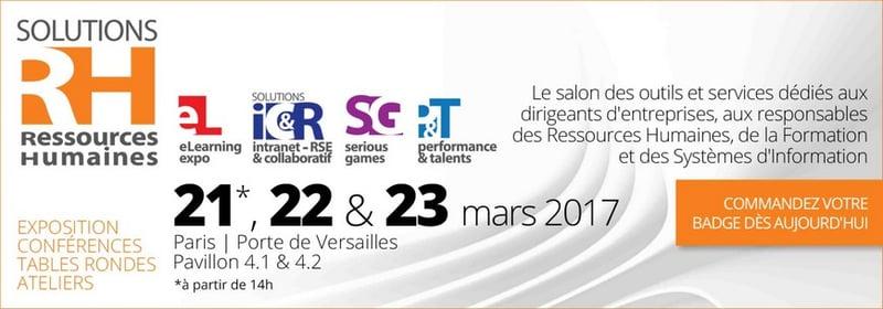 Retrouvez peopledoc au salon solutions rh 2017 for Salon solutions rh