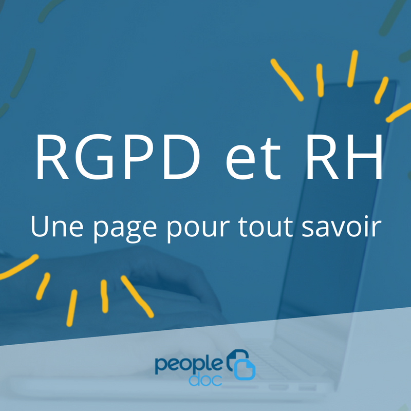 RGPD et RH par PeopleDoc