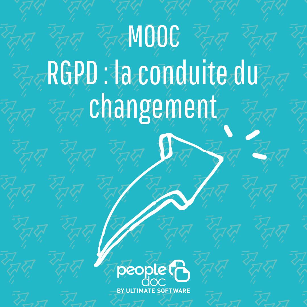 [Mooc RH] RGPD Chapitre 3: la conduite du changement