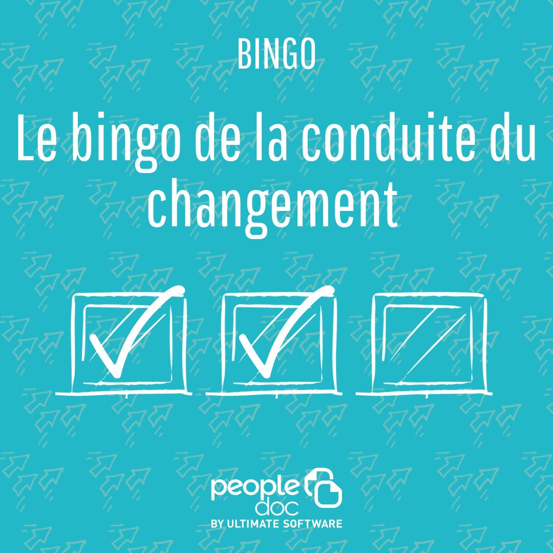 Le Bingo de la Conduite du Changement