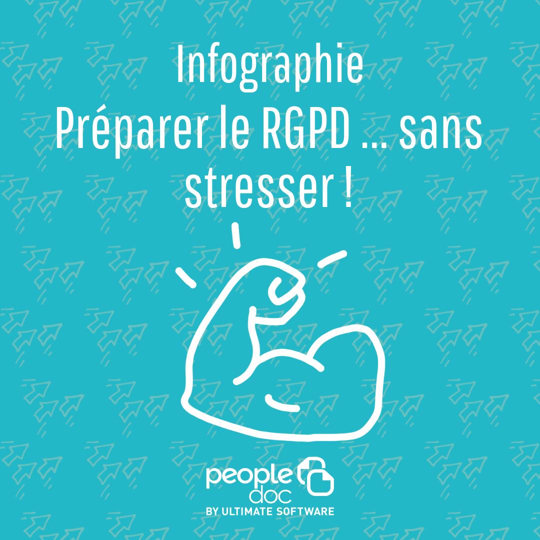 [Infographie] Préparer le RGPD... sans stresser
