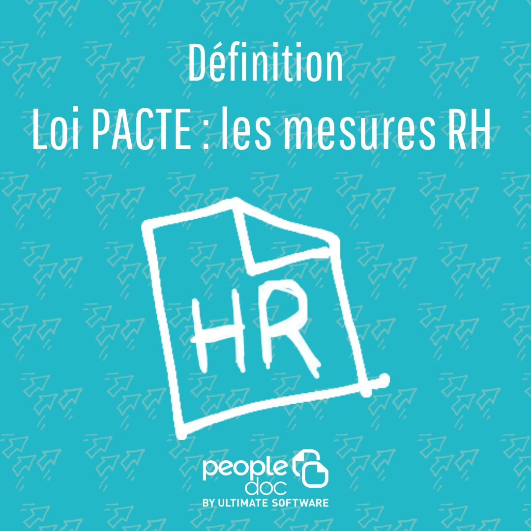 Loi Pacte : quel impact sur les RH ?