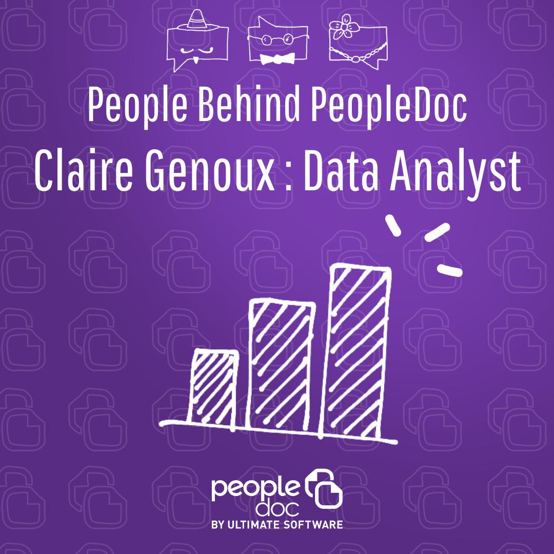 [À la rencontre de l'équipe] Claire Genoux, Data Analyst