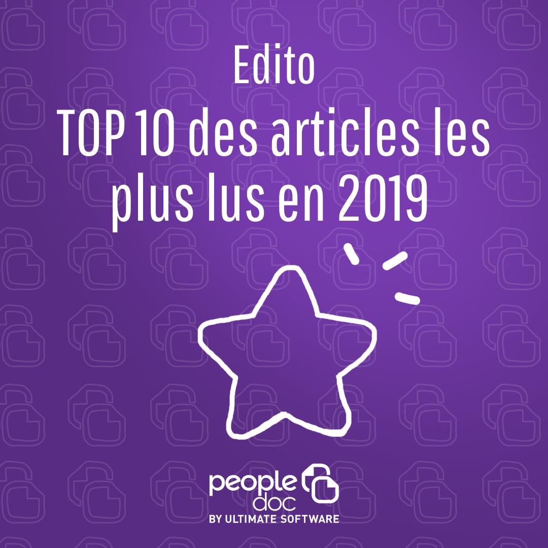 TOP 10 : les articles les plus lus en 2019