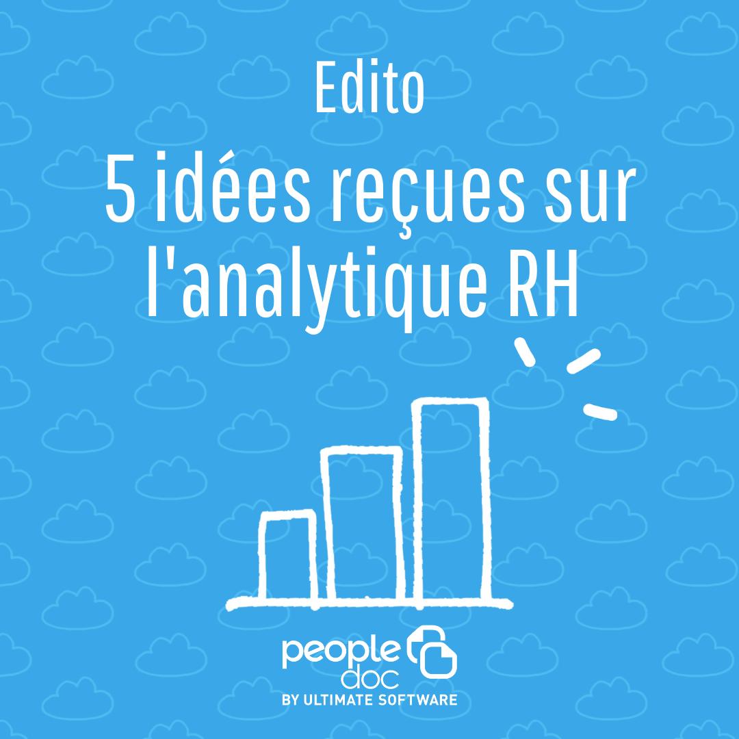 5 idées reçues sur l'analytique RH