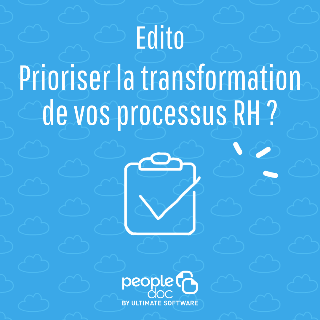 Comment prioriser la transformation de vos processus RH ?