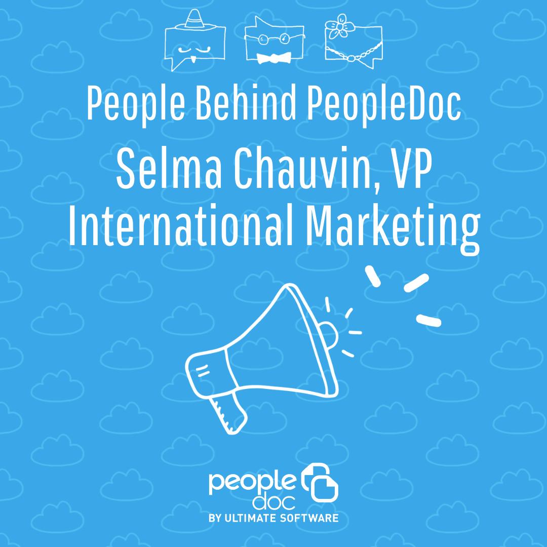 [A la rencontre de l'équipe] Selma Chauvin, VP International Marketing