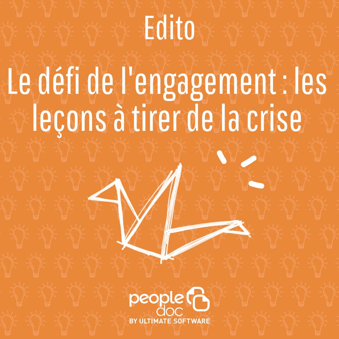 Le défi de l'engagement : les leçons à tirer de la crise