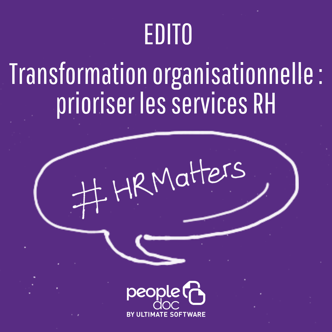 Transformation organisationnelle : prioriser les services RH