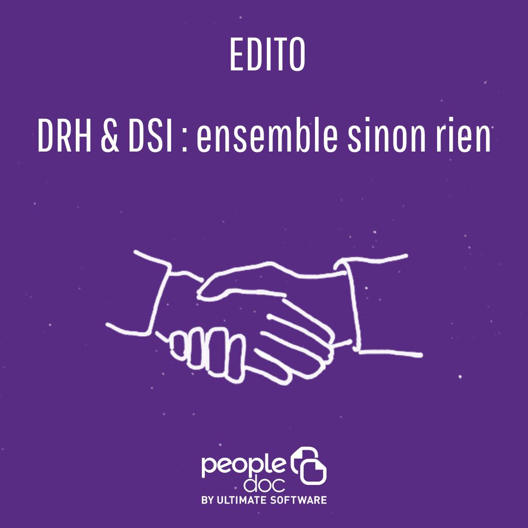 DRH & DSI : ensemble sinon rien