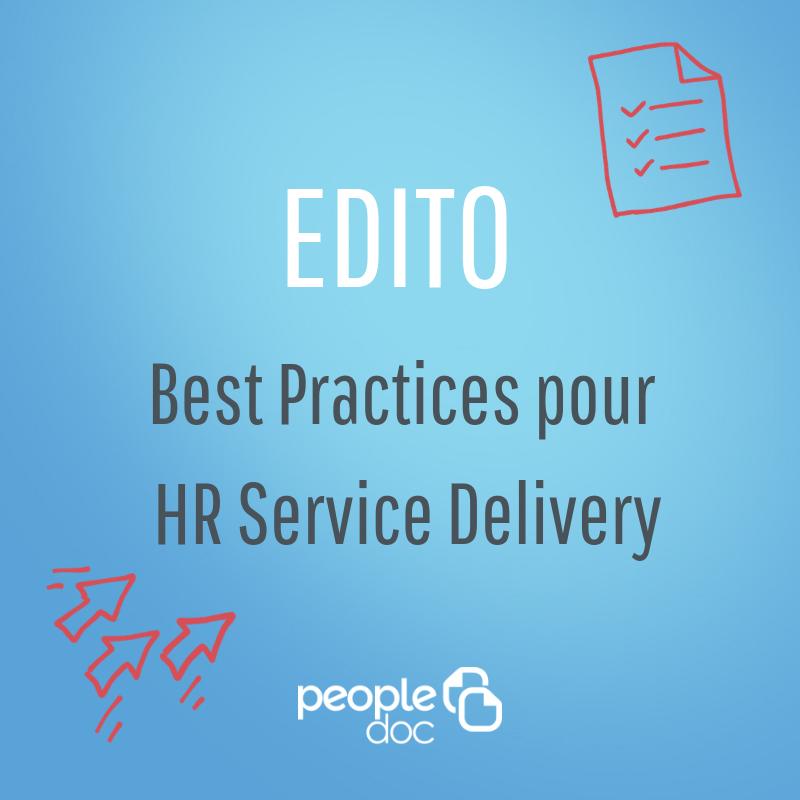 HR Service Delivery : définition et best practices