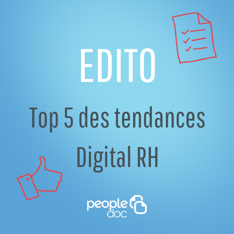 Top 5 : les tendances du digital RH