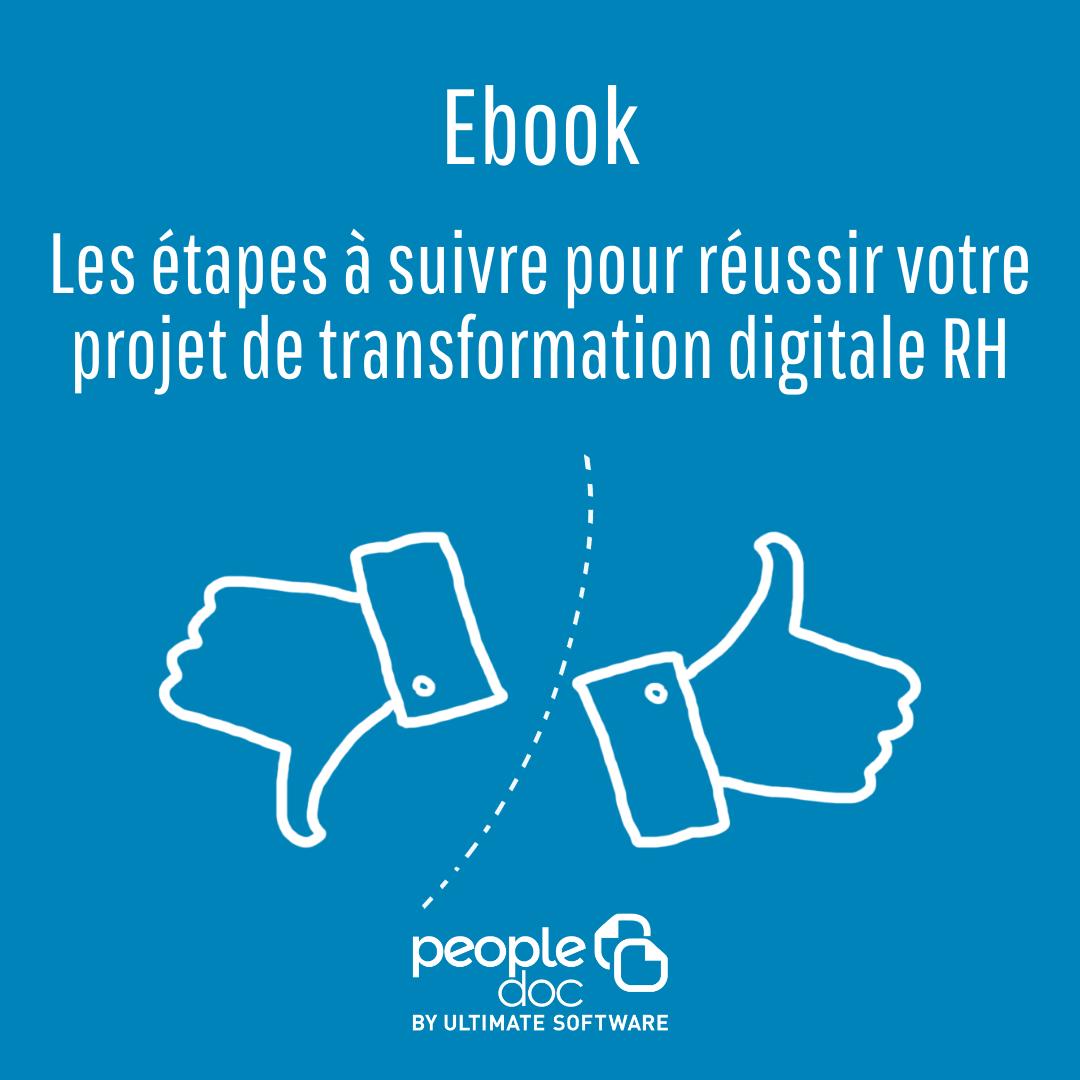 Les étapes à suivre pour mener à bien un projet de digitalisation RH