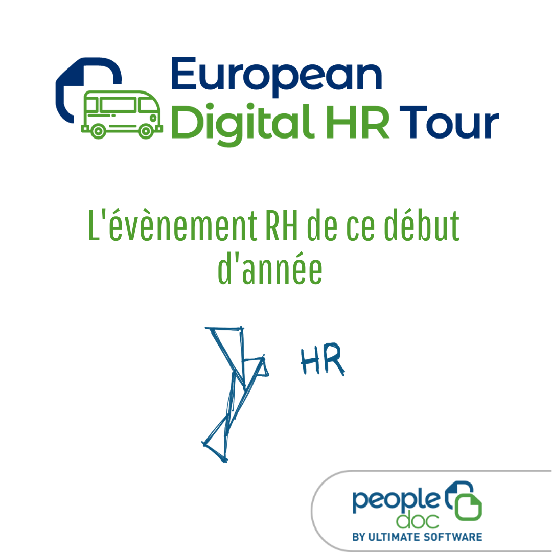 European Digital HR Tour 2020 : la fonction RH de demain