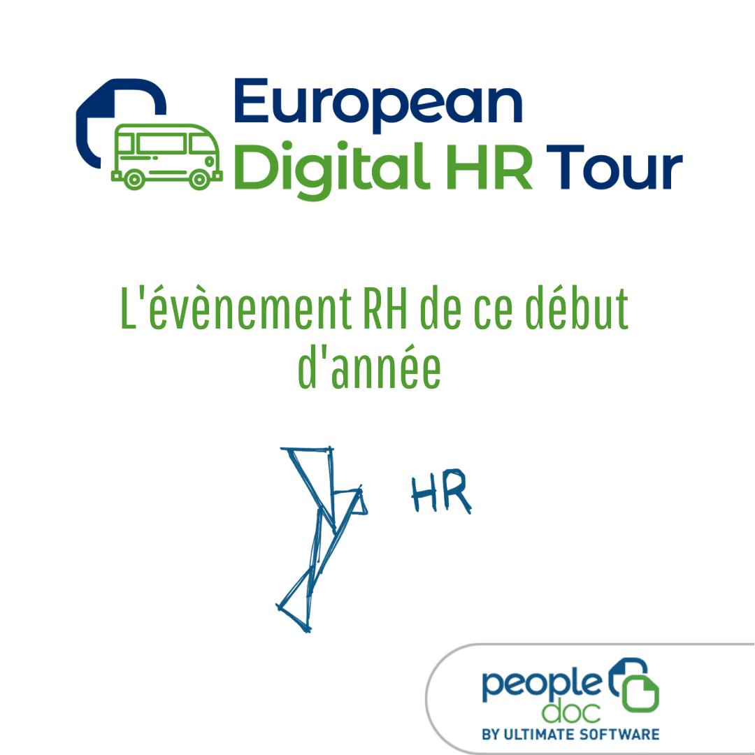 European Digital HR Tour 2020 : la fonction RH de demain