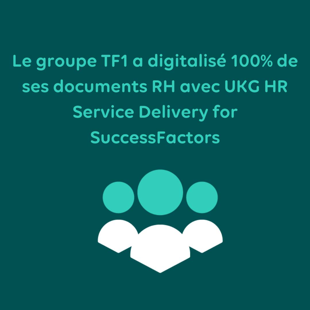 Comment le groupe TF1 a digitalisé 100% de ses documents RH