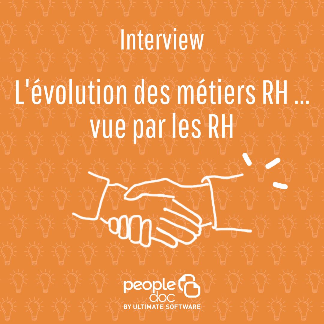 L'évolution des métiers RH ... vue par les RH