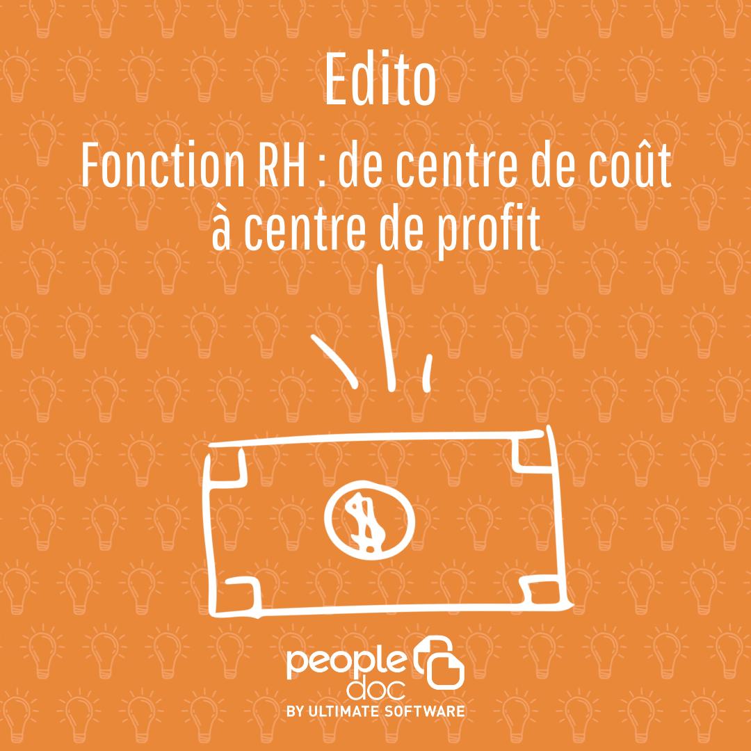Fonction RH : de centre de coût à centre de profit