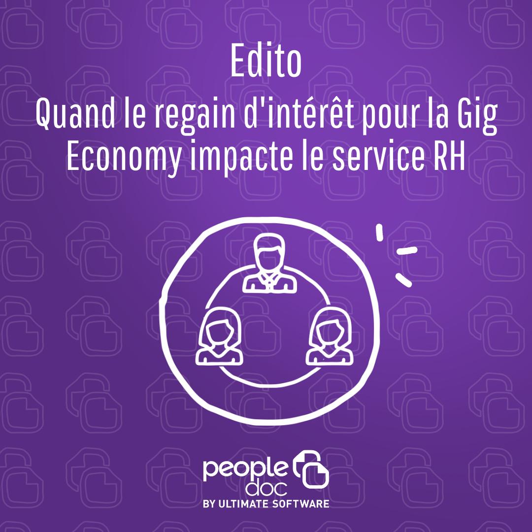 Quand le regain d'intérêt pour la Gig Economy impacte le service RH