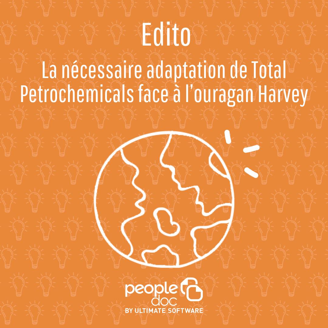 La nécessaire adaptation de Total Petrochemicals face à l'ouragan Harvey